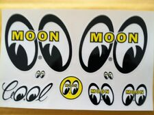 MOONEYES MOON STICKER DECAL SHEET HOT RAT ROD DRAG RACING GASSER NHRA VW DM001