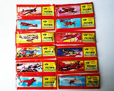 12x WWII Foam Flying Glider Aeroplane Air Plane Kid Toy Party Bag Gifts