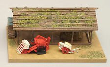 1/150 N scale TOMYTEC building 071 Agriculture machine & house B