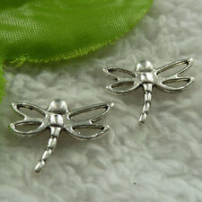 free ship 360 pieces tibet silver dragonfly connector 20x16mm #3898