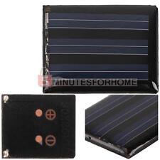 Mini Pannello Solare Fotovoltaico 1,5v 135mA Silicone Policristallino Giardino