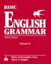 Basic English Grammar, Vol. B By Betty Azar