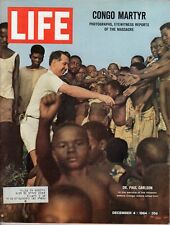 LIFE Dec 4 1964 Carlson Killed, Chagall, Fiddler on the Roof, Verrazano-Narrows