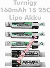 5x Turnigy Lipo Akku NANO-TECH 1S 3,7V 160mAh 25C / Nine Eagles Solo Pro 2010+