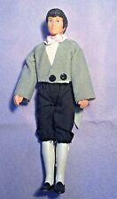 """HORSMAN DOLLHOUSE DOLL ~ 1988 ~ MAN 5.5"""" ~ DRESSED IN TUXEDO LONG TAILS"""