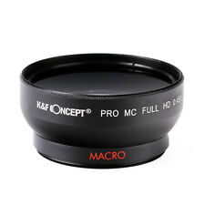 2in1 58MM 0.45x HD Wide Angle Macro Lens Multi-coated For Canon 100D 700D 650D