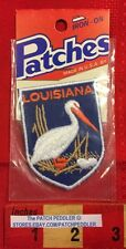 Louisiana Pelican State Patch Badge Travel Souvenir Old, But Unopened 571