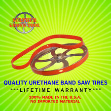 Quality Urethane Band Saw Tires for 3 WHEEL Craftsman 103.24300 Rpl. Part 36815