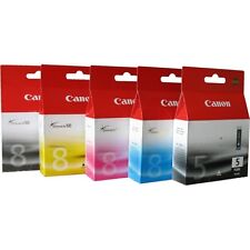Canon PGI-5 / CLI-8 CMYK Ink Cartridges Genuine for Pixma MX700 MP950 iP4300a