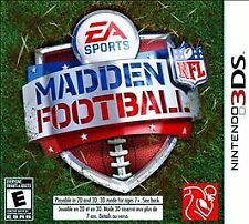 NINTENDO 3DS MADDEN Football New and Sealed
