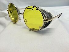Ghostbusters Dr. Holtzmann Inspired Glasses Yellow Cosplay NOS Steampunk Gold