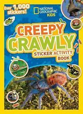 National Geographic Kids Creepy Crawly Sticker Activity Book: Over 1,000...