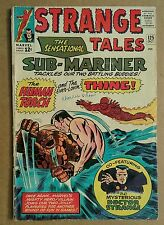 DOCTOR STRANGE Tales #125 MORDO 1964 SUB-MARiNER THiNG TORCH Stan Lee Movie Dr