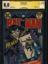 1973 BATMAN #251 CGC 8.0 VF- SIGNATURE SERIES NEAL ADAMS - CLASSIC JOKER COVER