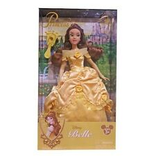 disney parks princess belle with jeweled hair brush doll toy new with box
