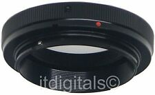 For Minolta MD X-370 X-570 X-700 T2 MOUNT LENS ADAPTER T 2 METAL SLR RING T-2