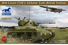 BRONCO CB35161 1/35 M22 Locust (T9E1) Airborne Tank (British Version)