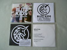 BLITZ KIDS job lot of 4 promo CDs Decisions EP Sell Yourself On My Own