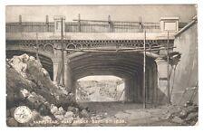 england london postcard english Postcard Hampstead Road Bridge