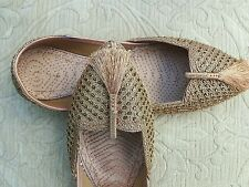 PEACH LADIES INDIAN WEDDING PARTY KHUSSA SHOE SIZE 3