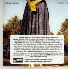 (CN520) Patrick Watson, Into Giants - 2012 DJ CD
