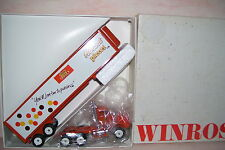 1992 Reese's Pieces Winross Diecast Trailer Truck With Refrigeration Unit