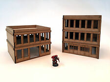 Wargames Scenery 2 Modern Buildings 40K 28mm Bolt Action Batman Terrain