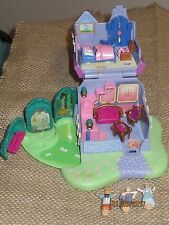Vtg Polly Pocket Cinderella Stepmother House Playset 1995 - 3 Figures COMPLETE!