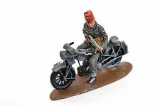 NSU 250CC MILITARY MOTORBIKE GERMAN SS HANDSCHAR BOSNIAN DIV 1:32 BM33 METAL