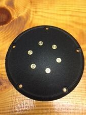 NEW WRINKLE BLACK DERBY COVER WITH GENUINE .57 BULLETS HARLEY DAVIDSON  TWIN CAM