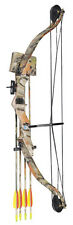 Archery Typhoon Light Adult / Junior Camo Compound Bow and Arrow Set Kit