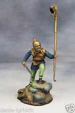 54mm miniature toy soldier Metal Figure,A Celtic Warrior with Carnyx