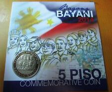 2015 Bagong Bayani 5 PISO COMMEMORATIVE COIN PHILIPPINES carded new released