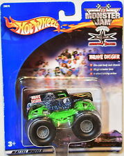 HOT WHEELS MONSTER JAM 2000 GRAVE DIGGER