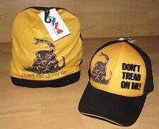 """U.S. Army """" Don't Tread Me """" Baseball and Winter Men's Hats Caps - you get both!"""