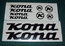 Kona Bike Sticker Decals Set of 10 MTB DH Stab Deluxe Supreme Stinky Operator