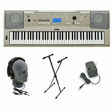 NEW Yamaha YPG-235 76-key Portable Grand Digital Piano Keyboard w/ Bundle