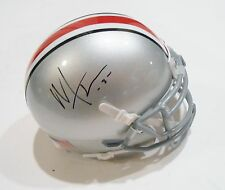 Mike Thomas Signed Ohio State Buckeyes Mini Helmet w/COA National Champs C