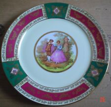 Bavaria Germany Collectors Plate OLD SCENE