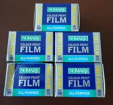 5 x Out of date Numark 35mm film
