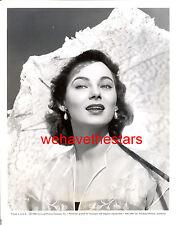 Vintage Marta Toren GORGEOUS BEAUTY '50 Publicity Portrait TRAGIC STAR