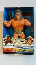 WWE WWF Ultimate Warrior 1990 Superstar Water Pumper Figure EXTREMELY RARE