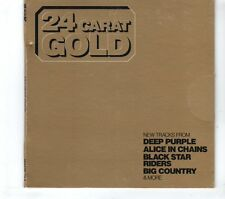 (GR767) Classic Rock - 24 Carat Gold, 15 tracks various artists - 2013 CD
