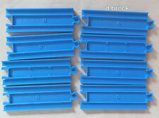 8 x HALF STRAIGHT TRACK - Tomy Tomica Trackmaster Train Thomas Tank Engine