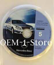 1999 2000 MERCEDES S S420 S430 S500 S600 C NAVIGATION MAP CD 5 MIDWEST IL OH WI