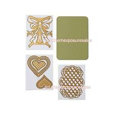 Anna Griffin® Love All Hearts Cut & Emboss Cuttlebug™ Dies Sold Out New./Sealed