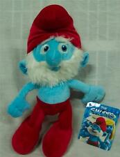 "The Smurfs PAPA SMURF 14"" Plush STUFFED ANIMAL Toy NEW w/ TAG Hanna-Barbera"