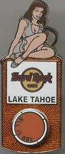 Hard Rock Cafe LAKE TAHOE 2007 iPOD Music Girl Series PIN ALL IS ONE Wheel Spins