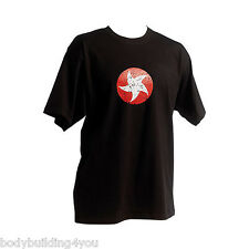 Maximuscle T-shirt Black Vintage Star X Large cyclone