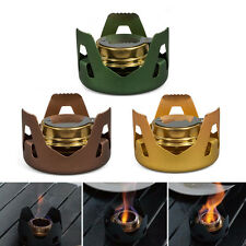 Outdoor Cooking Camping Stainless Steel Folding Wood Stove Alcohol Stove Pocket